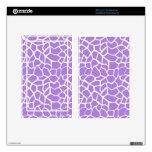 Estampado de animales púrpura Amethyst de la jiraf Skin Para Kindle Fire