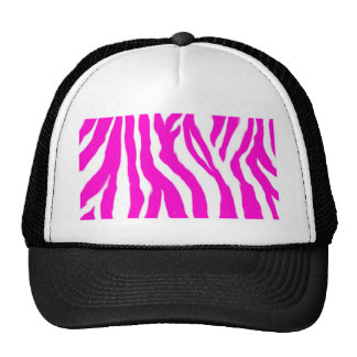 Estampado de animales rosado gorras de camionero