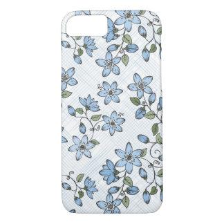 Estampado de flores 2 funda iPhone 7