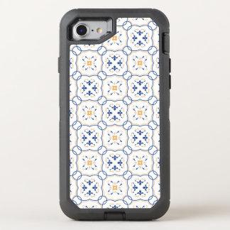Estampado de flores 3 funda OtterBox defender para iPhone 7