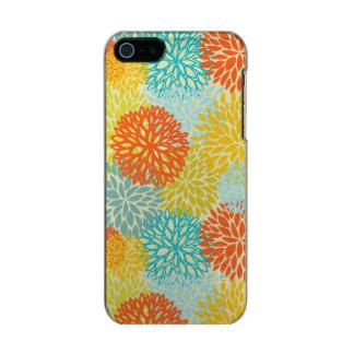Estampado de flores 3 funda para iPhone 5 incipio feather shine