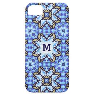 Estampado de flores abstracto marroquí romántico funda para iPhone SE/5/5s