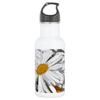Estampado de flores bonito de la margarita blanca