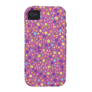 Estampado de flores Case-Mate iPhone 4 carcasas