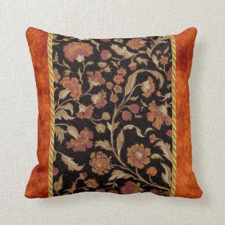 Estampado de flores coloreado moho elegante cojin