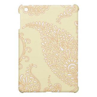Estampado de flores de la alheña de Paisley del vi iPad Mini Cobertura