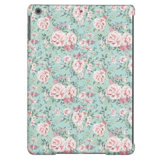Estampado de flores de la cabaña funda iPad air