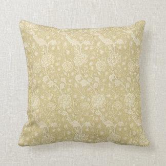 Estampado de flores de William Morris - almohada