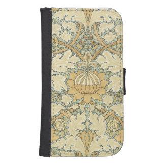 Estampado de flores de William Morris - caja de la Fundas Cartera Para Teléfono