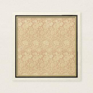 Estampado de flores de William Morris - Servilletas Desechables
