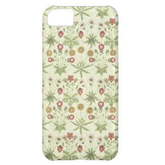 Estampado de flores del país del vintage funda para iPhone 5C