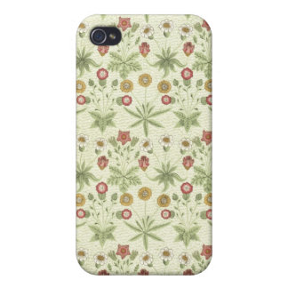 Estampado de flores del país del vintage iPhone 4/4S fundas