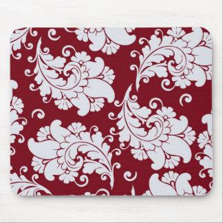 Estampado de flores del papel pintado de Paisley d Alfombrillas De Ratones