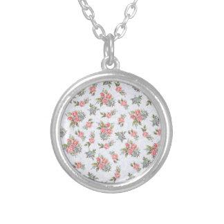 Estampado de flores del rosa de rosas de la cabaña grimpolas personalizadas