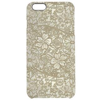Estampado de flores del vintage funda clearly™ deflector para iPhone 6 plus de unc