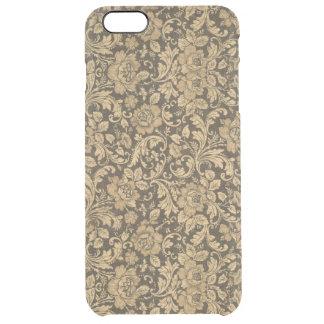 Estampado de flores elegante #2 del vintage funda clearly™ deflector para iPhone 6 plus de unc