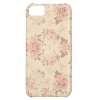 estampado de flores funda para iPhone 5C