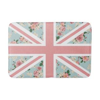 Estampado de flores inglés de Union Jack de los