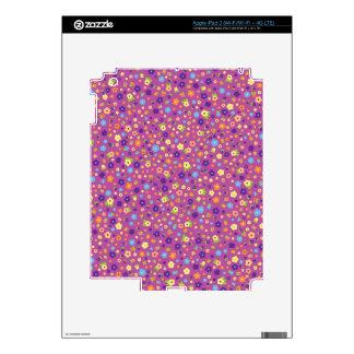 Estampado de flores iPad 3 skin