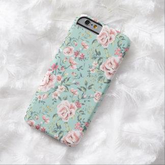 Estampado de flores lindo de la cabaña funda barely there iPhone 6