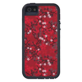 Estampado de flores oriental multicolor #7 funda para iPhone 5 tough xtreme