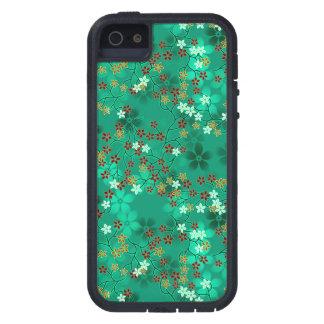 Estampado de flores oriental multicolor #8 iPhone 5 carcasas