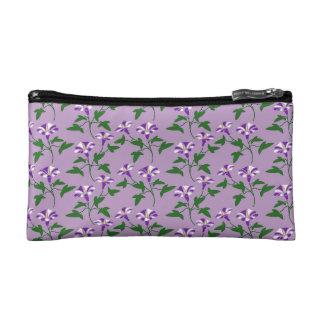 Estampado de flores púrpura de las correhuelas