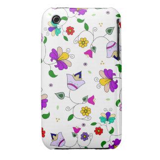 estampado de flores que remolina Armenio-inspirado Case-Mate iPhone 3 Coberturas