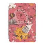 Estampado de flores retro 3 cover de iPad mini