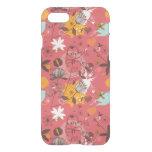 Estampado de flores retro 7 funda para iPhone 7