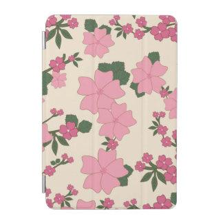 Estampado de flores rosado cover de iPad mini
