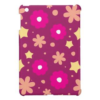 Estampado de flores rosado y púrpura sabroso
