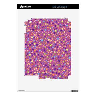 Estampado de flores skins para eliPad 2