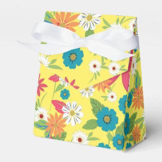 Estampado de flores suave femenino de moda lindo cajas para regalos