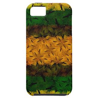 Estampado de flores tribal iPhone 5 cárcasas