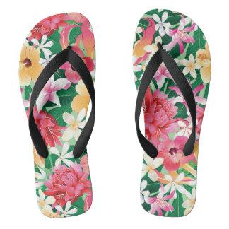 Estampado de flores tropical 2 del hibisco