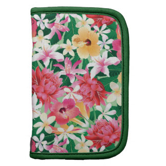 Estampado de flores tropical del hibisco planificadores