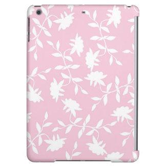 Estampado de flores tropical rosa claro