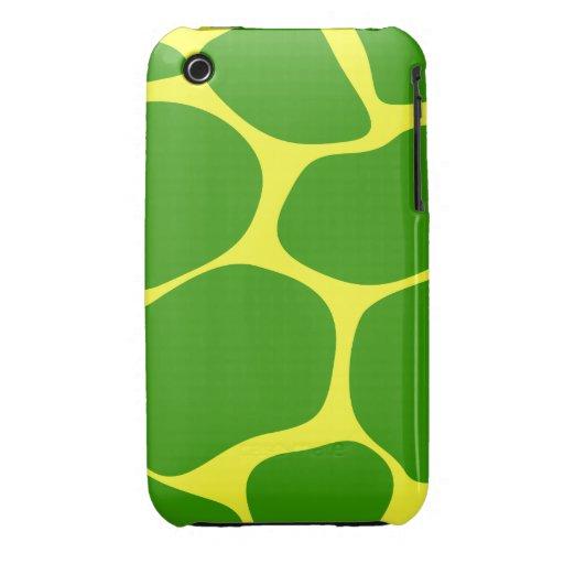 Estampado de girafa imponente iPhone 3 Case-Mate protector