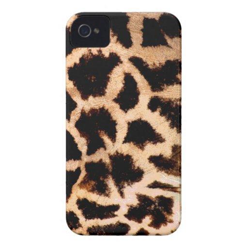 estampado de girafa iPhone 4 Case-Mate cárcasas