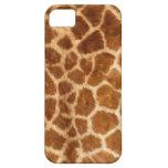 Estampado de girafa iPhone 5 Case-Mate coberturas