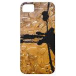 Estampado de girafa por el acebo Anderson del arti iPhone 5 Case-Mate Fundas