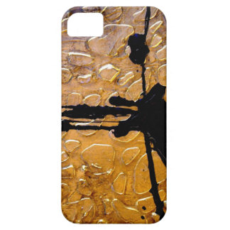 Estampado de girafa por el acebo Anderson del iPhone 5 Carcasas