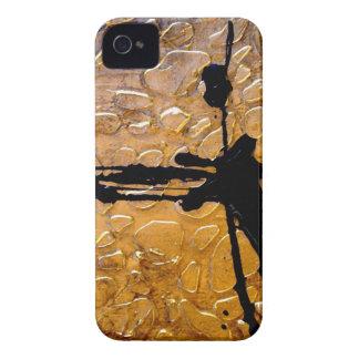 Estampado de girafa por el acebo Anderson del iPhone 4 Case-Mate Protector