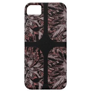 Estampado de plores floral de la dalia del collage iPhone 5 protectores