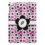 Estampado de plores floral de Pinkl para las inici iPad Mini Protector