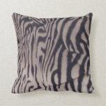 estampado de zebra almohadas