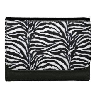 Estampado de zebra - blanco y negro de moda
