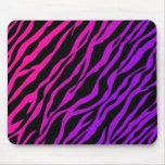 Estampado de zebra de Ombre Alfombrilla De Ratones