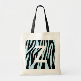 Estampado de zebra del agua bolsas